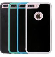 Moda Cep Telefonu Kılıfı Anti-yerçekimi Telefon Kılıfı Için IphoneX Iphone7 / 8 Iphone7 / 8PLUS TPU + PC Malzeme Cep Telefonu Kılıfı Ücretsiz Kargo.