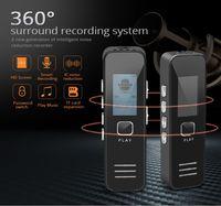 Flash controlador de pantalla LCD grabadora de voz digital USB Grabadora de voz con reproductor de MP3 Audio Recorder Pequeño soporte de tarjeta TF dictafonos