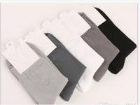 القطن الخالص الجوارب الربيع تنفس عرق ماصة شهم نمط الرياضة الجوارب ذات جودة عالية جوارب رجالية، 10PCS = 5 أزواج