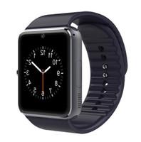 GT08 Smart Watch Smartoots Bluetooth Smartoches pour Smartphones Android Smartphones Slot Slot NFC Health Watchs avec boîte de vente au détail 4 couleurs