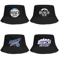 Busch Light Beer logo мужская и женская buckethat cool youth bucket baseballcap light blue adge white Latte So Much