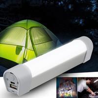 Lanterna Led 18650 Portátil Luz de Campismo USB Lanterna Recarregável Luz de trabalho com íman farol impermeável