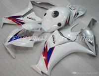 Moldeo por inyección de ABS Nuevos carenados de la motocicleta kits aptos para Honda CBR1000RR 2012 2013 2014 2015 Carrocería conjunto personalizado gratuito White