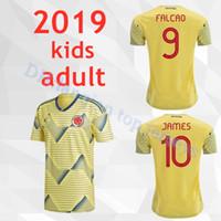 44d58c9b6dd60 20119 Colombia adultos niños camisetas de fútbol Copa América Colombia  JAMES Rodríguez Camiseta de futbol FALCAO