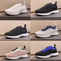 2020 Designer Hommes Sneaker Chaussures de course de basket-ball en maille Mesh néoprène Chaussures de sport Mode Hommes Slip-on Formateurs Souliers simples avec la boîte
