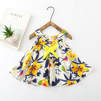 Floral Girls Dress baby girl clothes fashion 2019 kids girls...