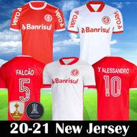 2020 2021 SC 인터내셔널 축구 유니폼 브라질 스포츠 클럽 알레산드로 로페즈 축구 셔츠 20 21 게레로 남성 camisa 드 Futebol 팀
