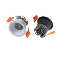 높은 품질 5W COB 디 밍이 미니 LED 통 미니 LED 스포트 라이트 LED 천장 램프 흰색 바디 / 블랙 바디