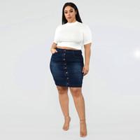 25715c0bc8b46f Vente en gros Jupes Longues Jeans Femmes 2019 en vrac à partir de ...