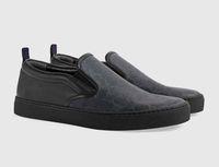 2019 nuova moda di lusso nero grigio uomo designer sneaker per le donne low cut slittamento piatto su mens donna casual scarpe trasporto di goccia 36-46
