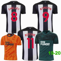 2019 2020 Newcastles Camisetas de fútbol SHELVEY PEREZ RITCHIE RONDON local lejos 19 20 camiseta de fútbol S-2XL