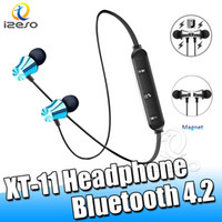 Magnetic Bluetooth TWS auriculares Handsfree Hifi Surround Fones de ouvido estéreo para iPhone 11 Pro Max Samsung Huawei LG Headsets Telefone izeso 11 XT-