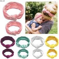 New fashion elastico genitore-bambino nodo fermaglio con velluto dorato mamma e bambino Festival capelli anello ornamento dei capelli bambini-mam accessorio dei capelli