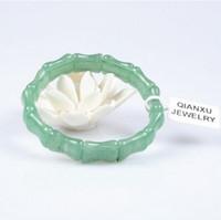 Naturale Dongling giada della mano del braccialetto gioielli scolpiti uomini fortunati e femminile con il certificato