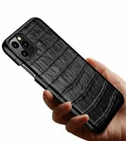 아이폰 11 11 프로 맥스 XS XR X 3D 정품 가죽 악어 케이스 악어 레트로 커버
