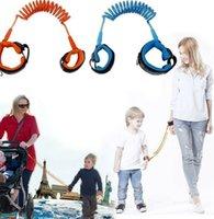 Anti Perdu Band Kid Harnais de sécurité pour enfants Anti perdu Sangle de poignet marche 1.5m laisse Leash bébé parent extérieur corde Ceinture Wristband LJJK2198-1