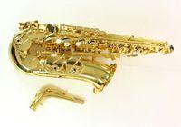 Jupiter JAS-1100 modello intermedio Sassofono oro lacca bemolle Alto Sax Instruments con il caso