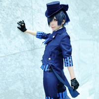 Ciel Phantomhive cosplay costumes Japanese anime Black Butle...