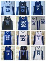 Duke Erkek 3 GriSon Allen 0 Jayson Tatum 32 Christian Laettner 15 Okafor 33 Hill 4 JJ Reddick Koleji Basketbol Formaları