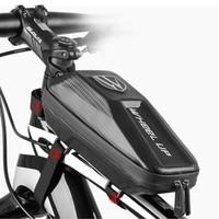 دراجات الجبهة الإطار مثلث حقيبة ركوب الدراجات الدراجة أنبوب الحقيبة حامل العديلات السرج