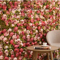 40*60 cm HI- Q artificial flower wall panel Milan turf party ...