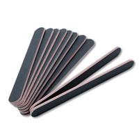 Gratis verzending schuren nagelbestand grits 100/180 rechte rand stick, spijker kunstsalon glitter gereedschap