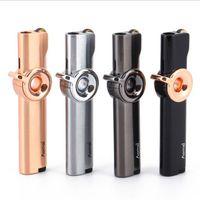 Зажигалка для курения газа Супер тонкое шлифовальное колесо сигареты бутановые струи ветрозащитные запланированные зажигалки с поворотным выключателем