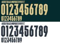 2020 ITALIE Football polices d'impression à chaud Football ITALIA Verritti INSIGNE ensemble de noms Jorginho Lettres Stamping PLAYER autocollants en plastique de football