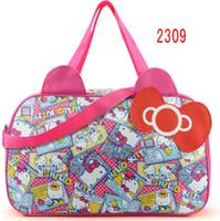 841e12b24b0c Wholesale hello kitty tote bags for sale - Waterproof Travel Bag Luggage Womens  Girls Cartoon Shoulder