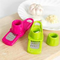 Herramientas TY cocina del hogar de múltiples funciones creativa jengibre Grinder ajo ajo cortado Press