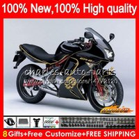Body For KAWASAKI 650R ER6 F 650 R ER 6 F ER6F 06 07 08 skul...