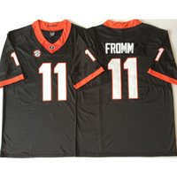 28a1295a7 New Arrival. Mens Georgia Bulldogs Jake Fromm Stitched Name&Number American College  Football Jersey Size ...