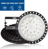 VS schip Smart Illumination LED High Bay Light 100W 8000LM AC 110V Verlichtingsarmatuur, 6500K Commercieel daglicht
