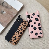 2019 Fashion Damon Leopard Print IMD Phone Case For iPhone X...