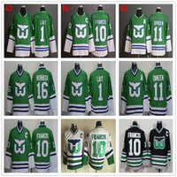 2019 New Hartford Whalers 11 Kevin Dineen Jersey Mens Stitched Vintage CCM Hóquei 10 Ron Francis 1 Mike Liut 16 Patrick Vermeek Jersey