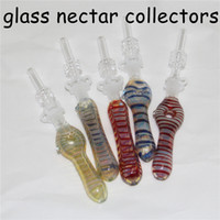 Verre NC Kit avec quartz Conseils Dab accessoires de tuyauterie en verre paille huile Rigs tabac truque dab cendres de verre Reclaim Catcher catcaher