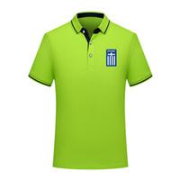 Tasarımcı Yunanistan Erkekler Polo Gömlek Yaz İş Casual Erkek kapşonlu spor Run Kısa Kollu Tişört eğitim Giyim Erkek Polos ts Tops