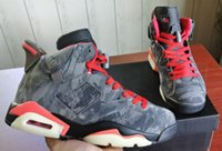 High Quality 6 Camo Travis Scotts Cactus Jack 6s Camo Basket...