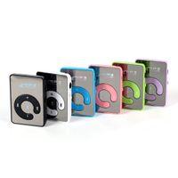 Specchio USB MP3 della clip giocatore di sport di sostegno 8GB TF mini musica Media Player