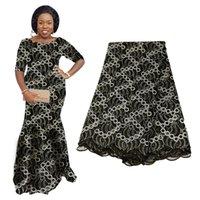 2020 самых лучшие продавая Voile кружево африканских тканей кружева французской Ткань из бисера Камней Нигерийского Swiss Ткань для каждого платья