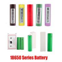 Nova qualidade de alta qualidade HG2 30Q VTC6 3000MAH INR18650 LG Sony Samsung 25r HE2 HE4 2500mAh VTC5 2600mAh VTC4 18650 Bateria E Cig Mod Recarregável
