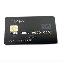 Cartes de contact en plastique PVC en plastique ISO 7816 personnalisées SLE5528 CARTE SMART IC SMART