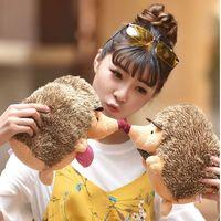 18 centímetros bonito macio bonito Hedgehog Animais Boneca Stuffed Plush Toy Criança crianças Início de casamento Party Brinquedos para o presente Crianças Kid