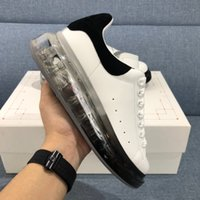 2020 ins Hommes Femmes Casual Chaussures Casual Sneaker Plate-forme Crystal Baskers Baskets En Cuir Fête Robe Chaussures Chaussures Chaussures Chaussures Chaussures