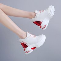 Women shoes height Increasing Shoes casual sports elevator s...
