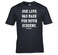 2019 New Casual Maglietta Tee Short Kodaline Our Love Was Made Per Movie Screens T Shirt New Simple Short O - Neck Magliette per uomo