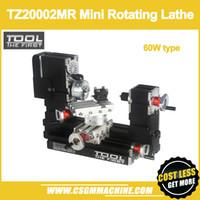 TZ20002MR 60 W Metal Mini Dönen Torna / 60 W, 12000 rpm Büyük Güç mini torna / DIY torna / Eğitici Oyuncak