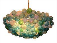 Livraison gratuite Chine le magasin d'usine Murano style Lustre en verre LED plafond de cristal Pendentif Lampes pour Home Décor