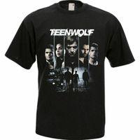Genç Kurt Film Dizi Erkekler Siyah Tişört Tees Giyim