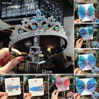 2Colors Snowflake Headwear Fabric Fashion Hair Circle Ribbon...